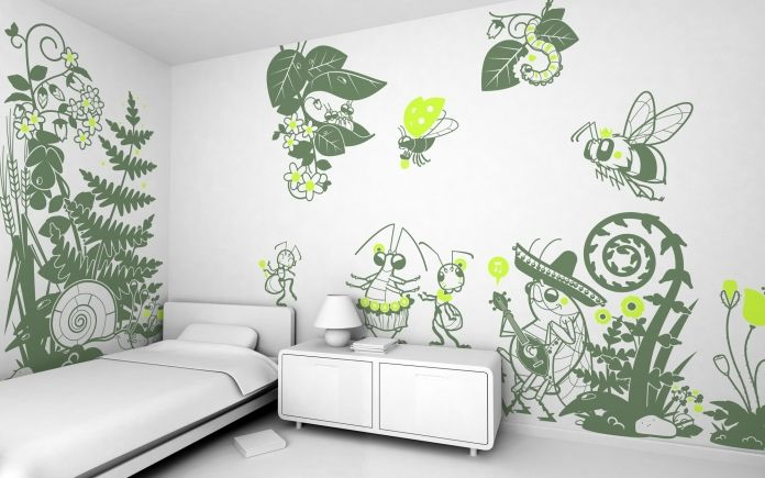 Vinilos Prohibido Pisar El Césped Vinilos Infantiles Para - 3d dinosaur wall decalsd dinosaur wall stickers for kids bedrooms jurassic world wall