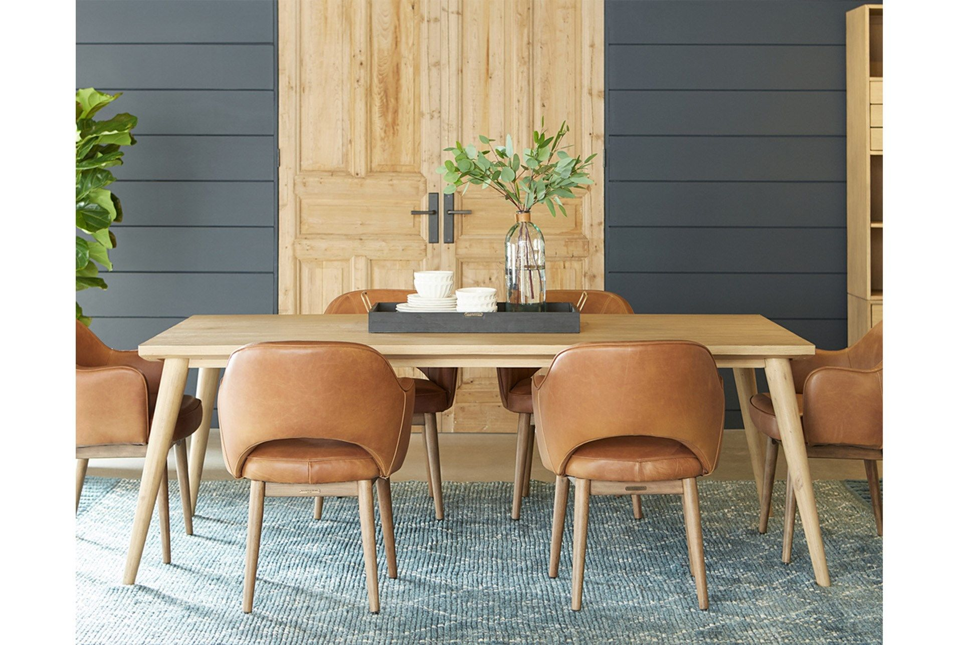 Love That Blue Toned Grey Dining Nook Table Magnolia Homes Joanna