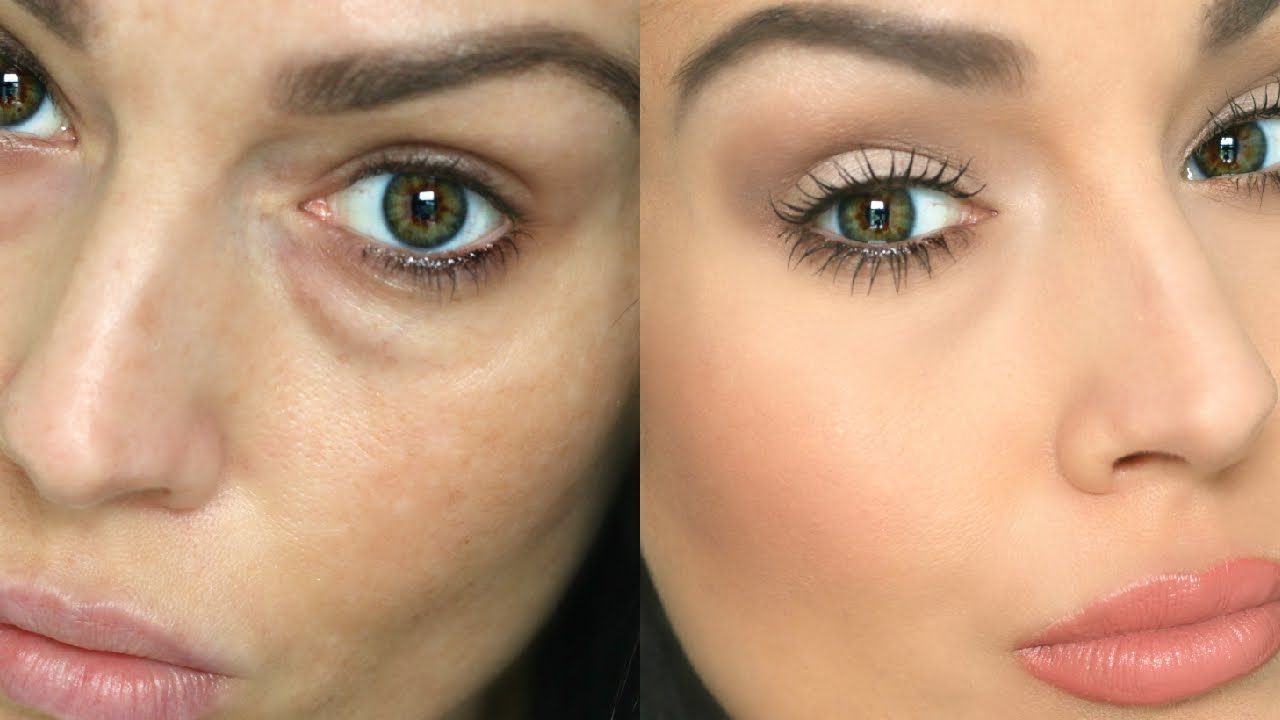 How to Conceal Under Eye Circles / Bags | beauty | Maquillaje, Ojos