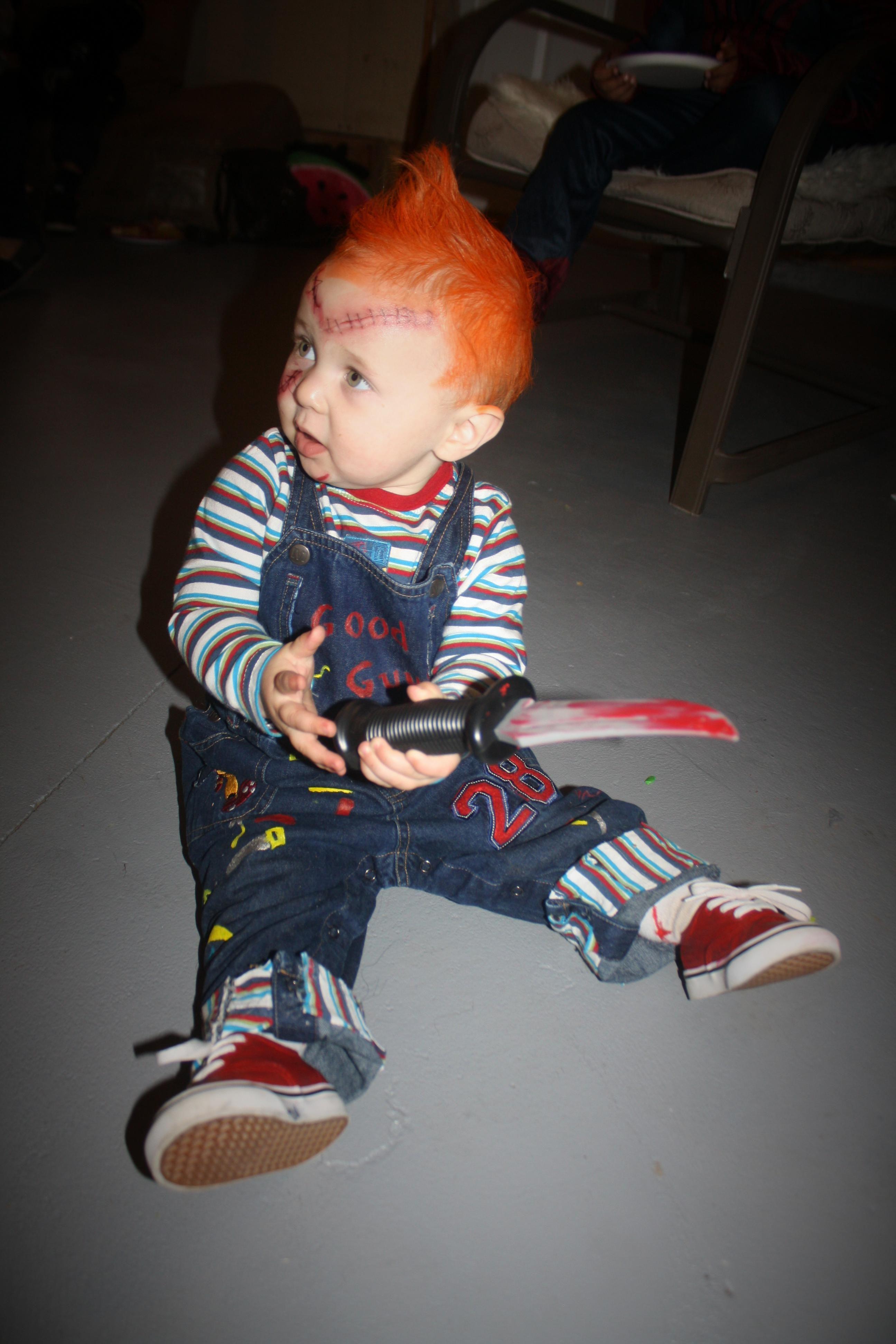 chucky toddler halloween costume | halloween ideas | pinterest
