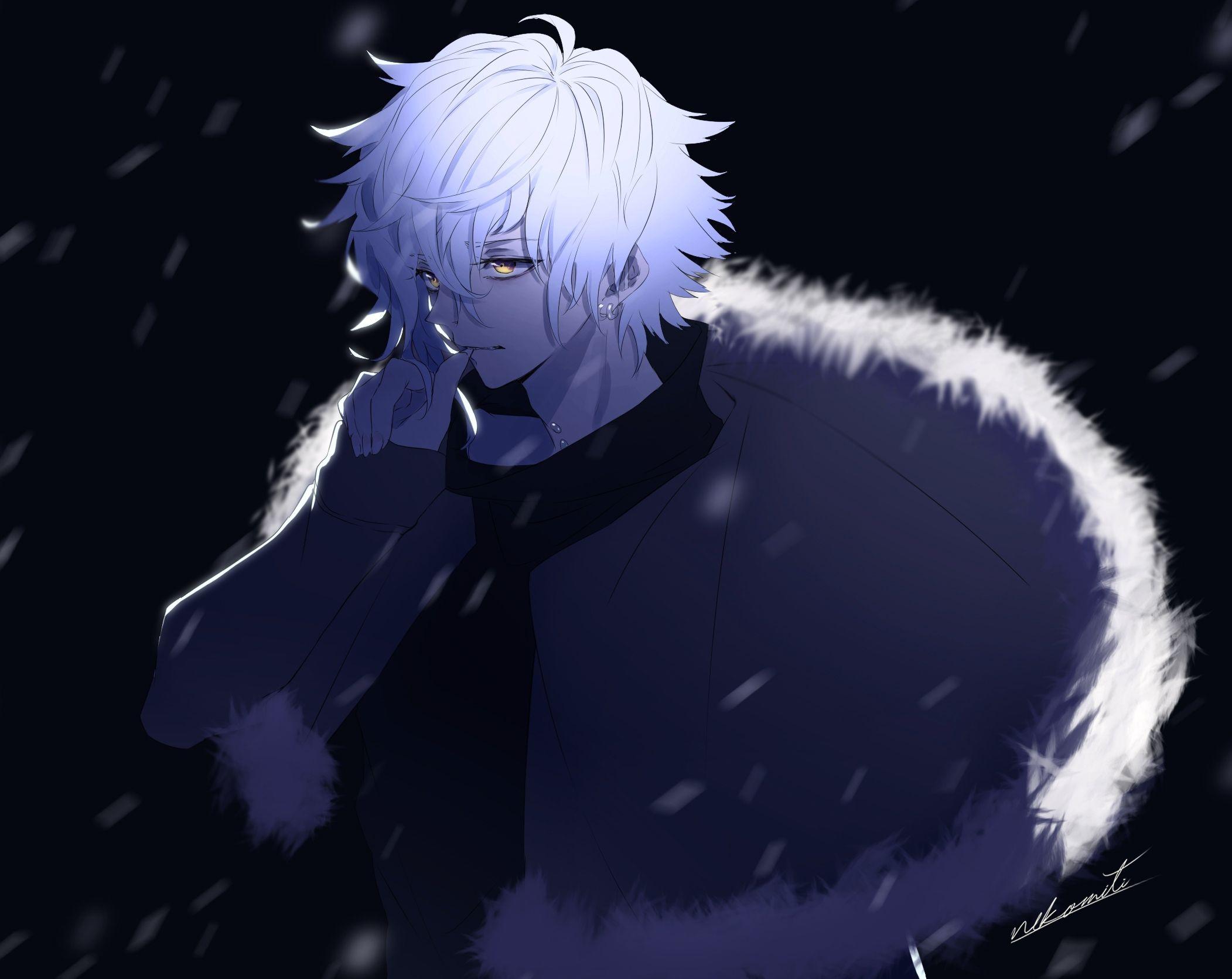 Kadoc Zemlupus Fate Grand Order White Hair Anime Anime Guys White Hair Anime Guy