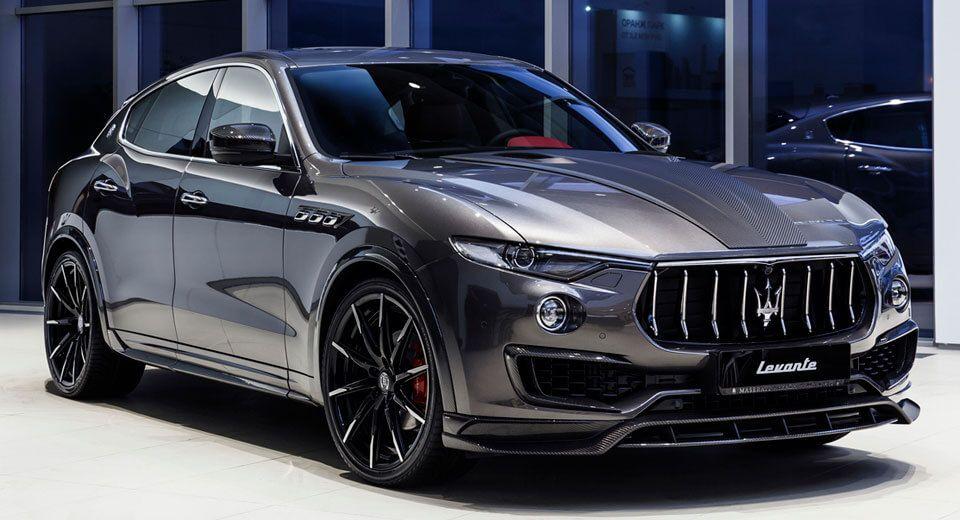 Larte Design Upgrades The Maserati Levante S With Shtorm Kit