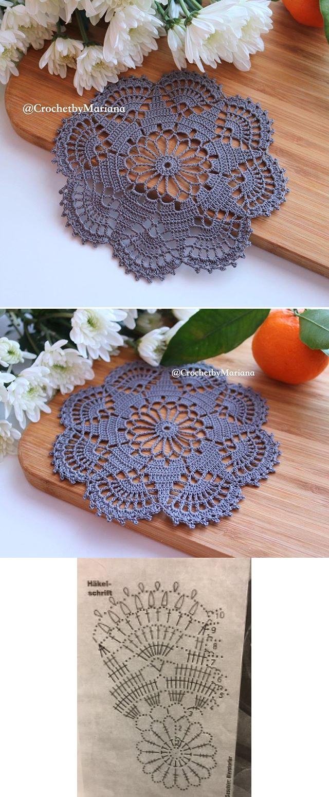 Pin By Estr Ivanir On Sheila 4 Ano Pinterest Crochet Coaster Patterns Diagrams A Few Pretty Snowflakes