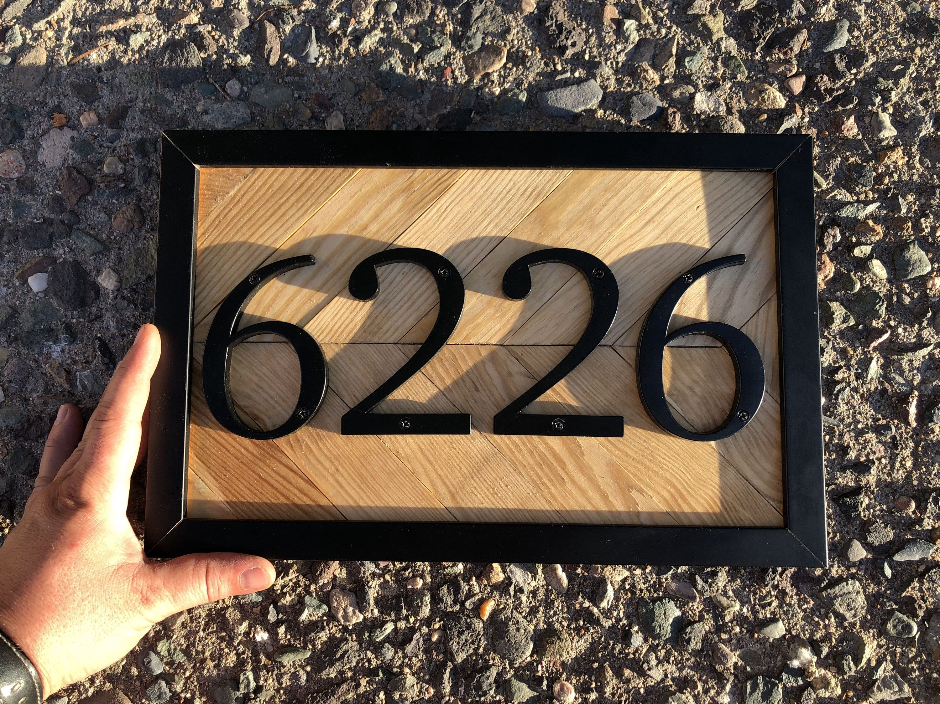 Address plaque number sign address numbers address sign address plaque number sign address numbers address sign beach cottage decor beach cottage sign house number plaque no42 dailygadgetfo Images