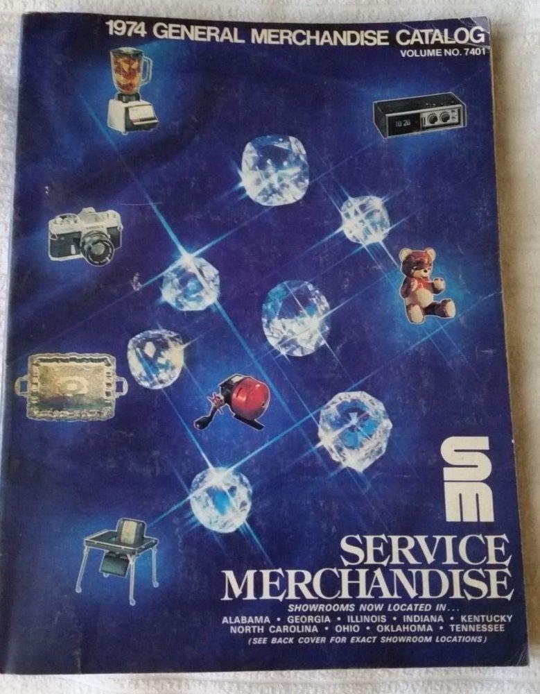 1974 Service Merchandise General Catalog VHTF
