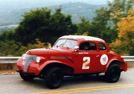 Just a car guy : Fangio's first race car, 1939 Chevrolet