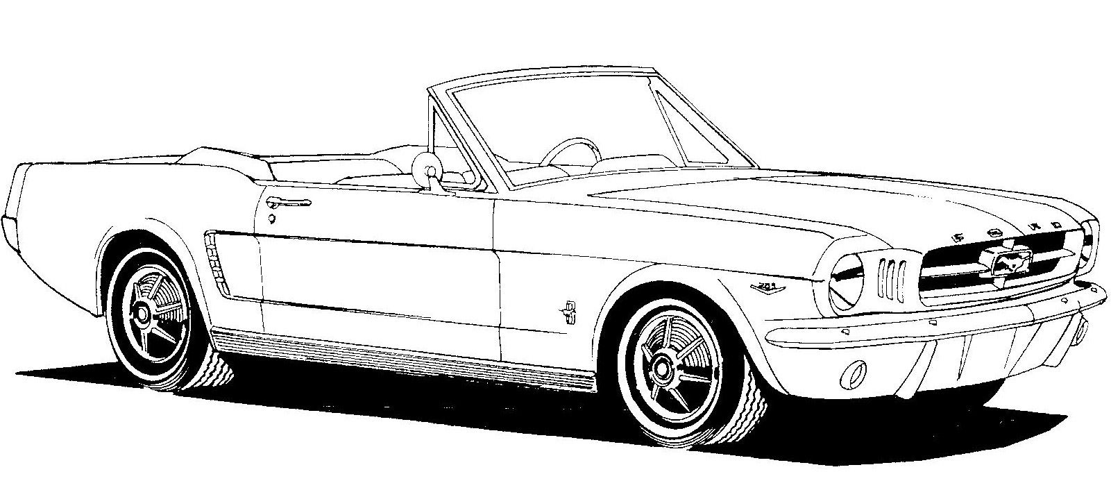 Red Mustang Convertible Clip Art Bing Images HOT ROD