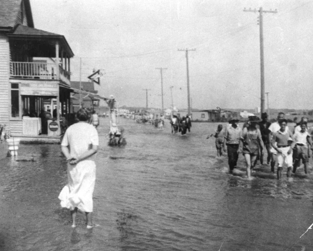 How A Big Hurricane On Aug 22 1933 Created The Ocean City We Know Today Secrets Of The Eastern Shore Ocean City Boardwalk Ocean City Ocean City Maryland