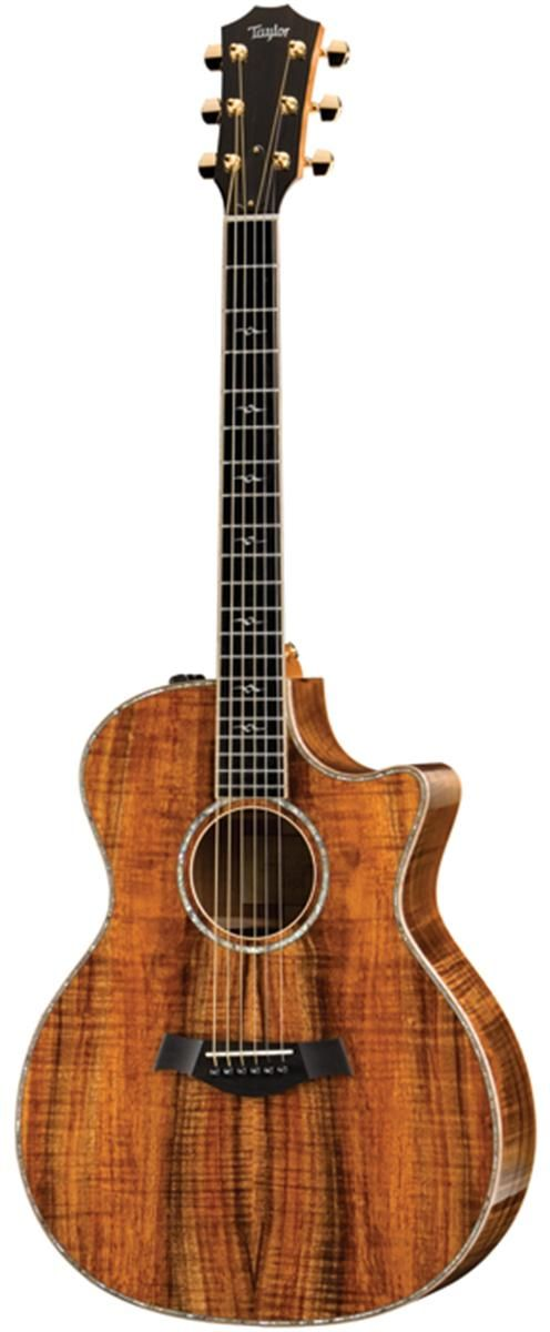 Taylor Koa Series K24ce Acoustic Electric Guitar And More 6 String