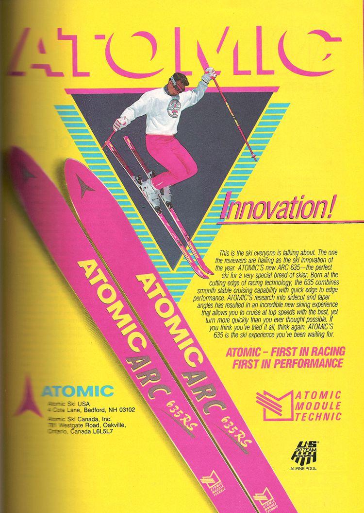 80s poster design - Atomic