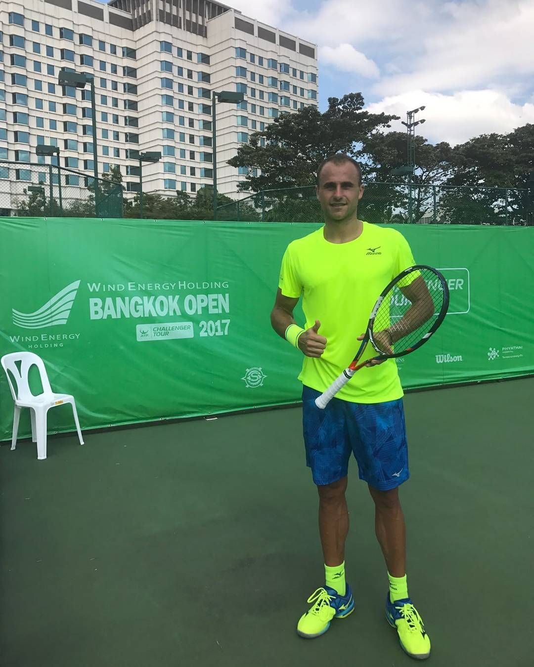 Marius Copil este in turul secund la Bangkok