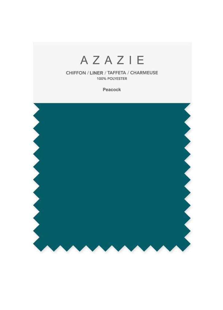 Azazie Green Swatch Set  (10 shades * 6 fabrics) - Bridesmaid dress, Wedding, Wedding gown,  Green, mint, moss, chiffon, mesh, satin