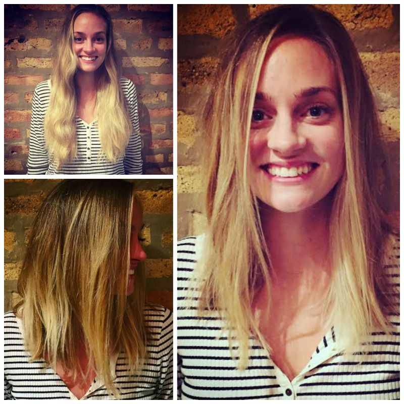 Soft Blonde Balayage And Angled Lob Haircut By Holly At Sine Qua Non