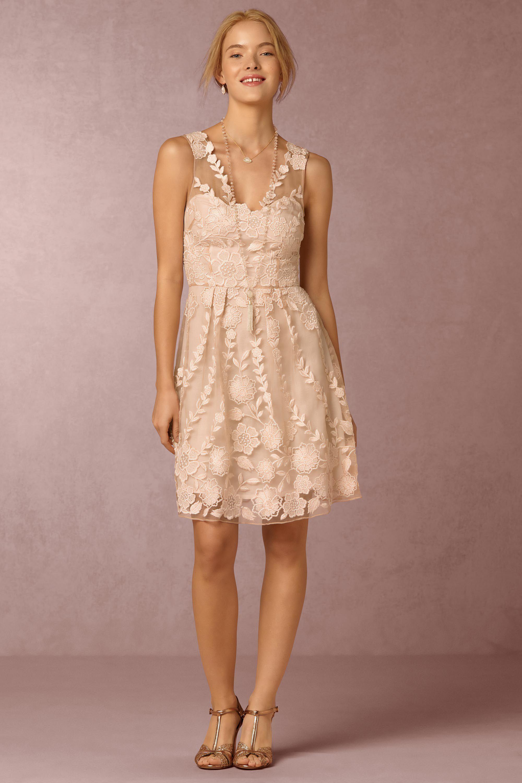 BHLDN\'s Yoana Baraschi Ersalina Dress in Blush