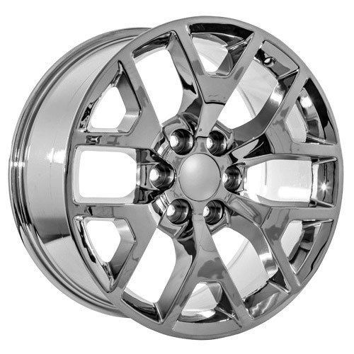 Amazon.com: 22 Inch GMC Truck Yukon Denali Sierra Chrome