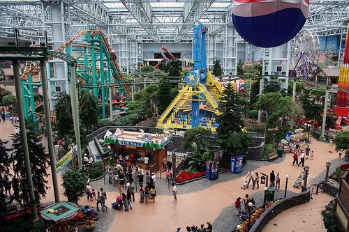 Mall Of America Bloomington MN USA I Live Only A Short - Largest mall in usa