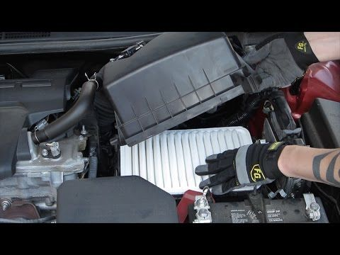 Engine Air Filter Replacement Toyota Camry L4 2 5l Engine Air Filter Toyota Camry Camry