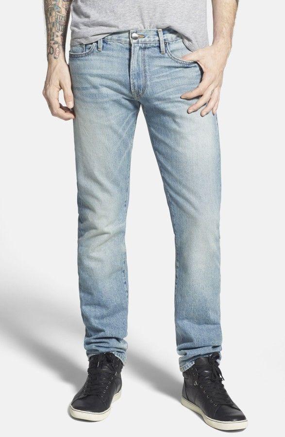 Mens LHomme Slim Jeans Frame Denim PWj35SR2