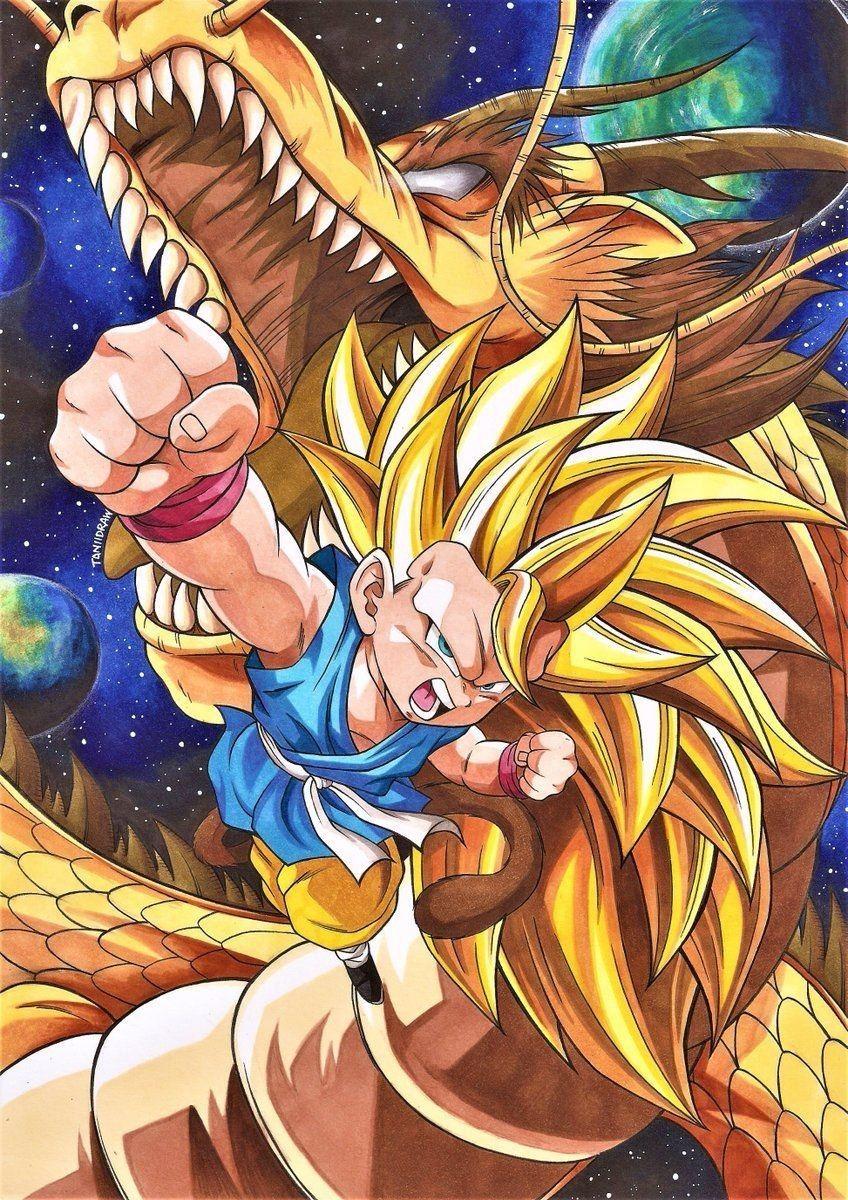 Fond D Ecran Dragon Ball Gt