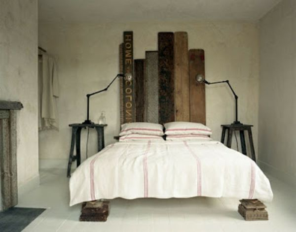 r cup palettes 34 chambres coucher la t te de lit palette pallets wood. Black Bedroom Furniture Sets. Home Design Ideas