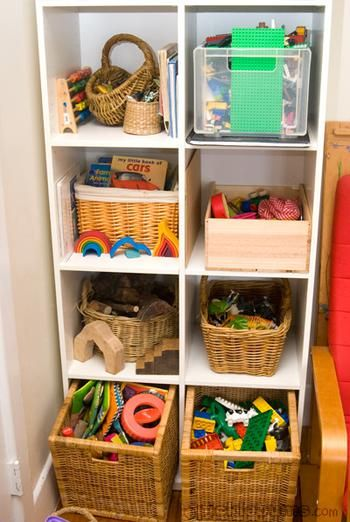Toy Organization for Small Spaces images