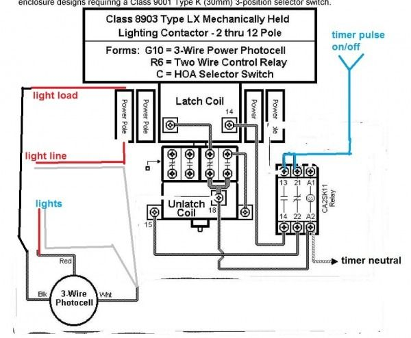 latching contactor wiring diagram diagram diagram, link, wire 3 Phase Contactor Wiring Diagram