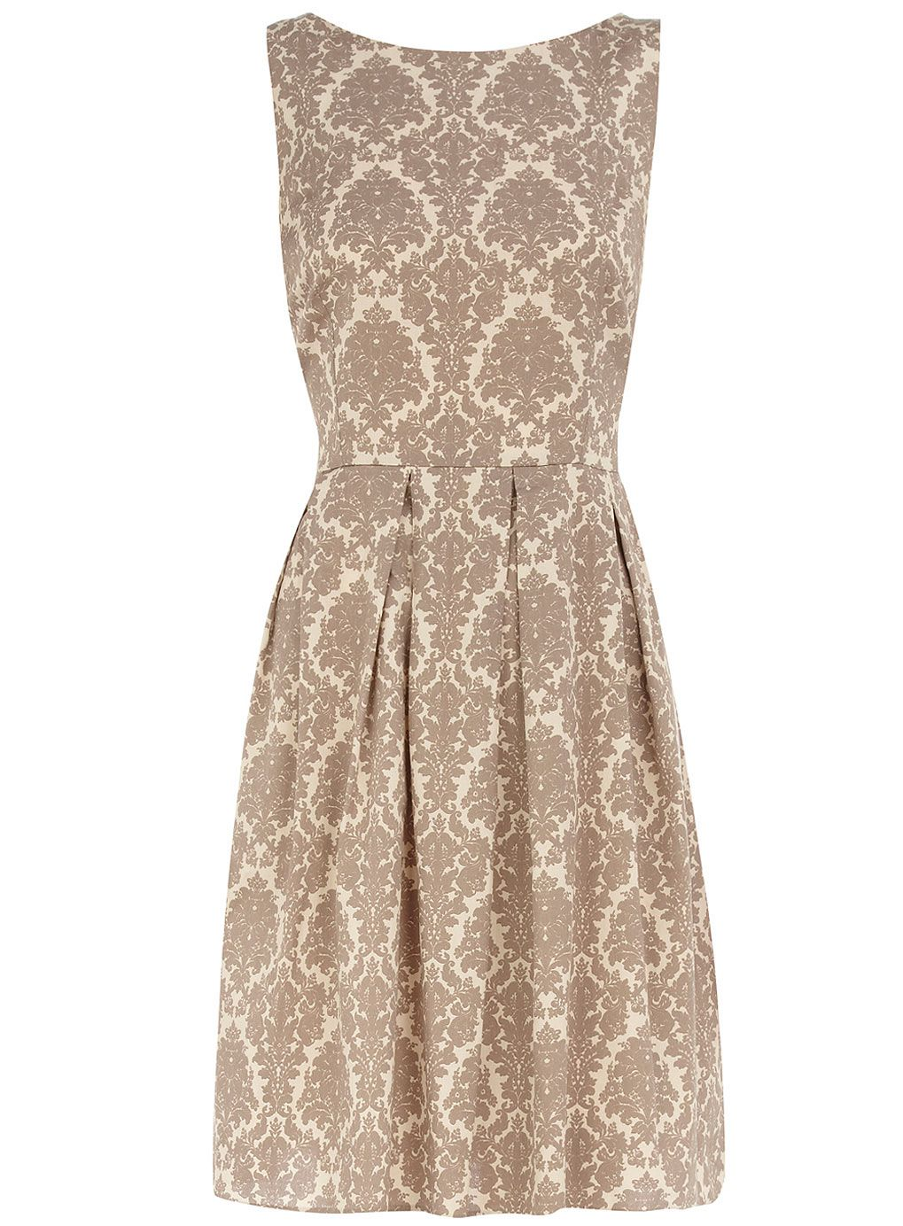 Dorothy perkins limited edition damask prom dress trend ss
