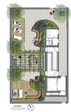 Rooftop Amenity Plan Google Search Ev Bahcesi Tasarimi Yesil Catilar Mimari