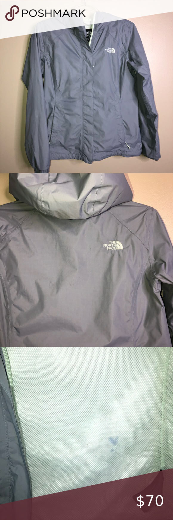 Grey The North Face Rain Jacket North Face Rain Jacket Rain Jacket The North Face [ 1740 x 580 Pixel ]