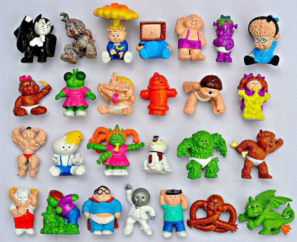 Garbage Pail Kids Minikins Retro Toys Garbage Pail Kids Monster Toys
