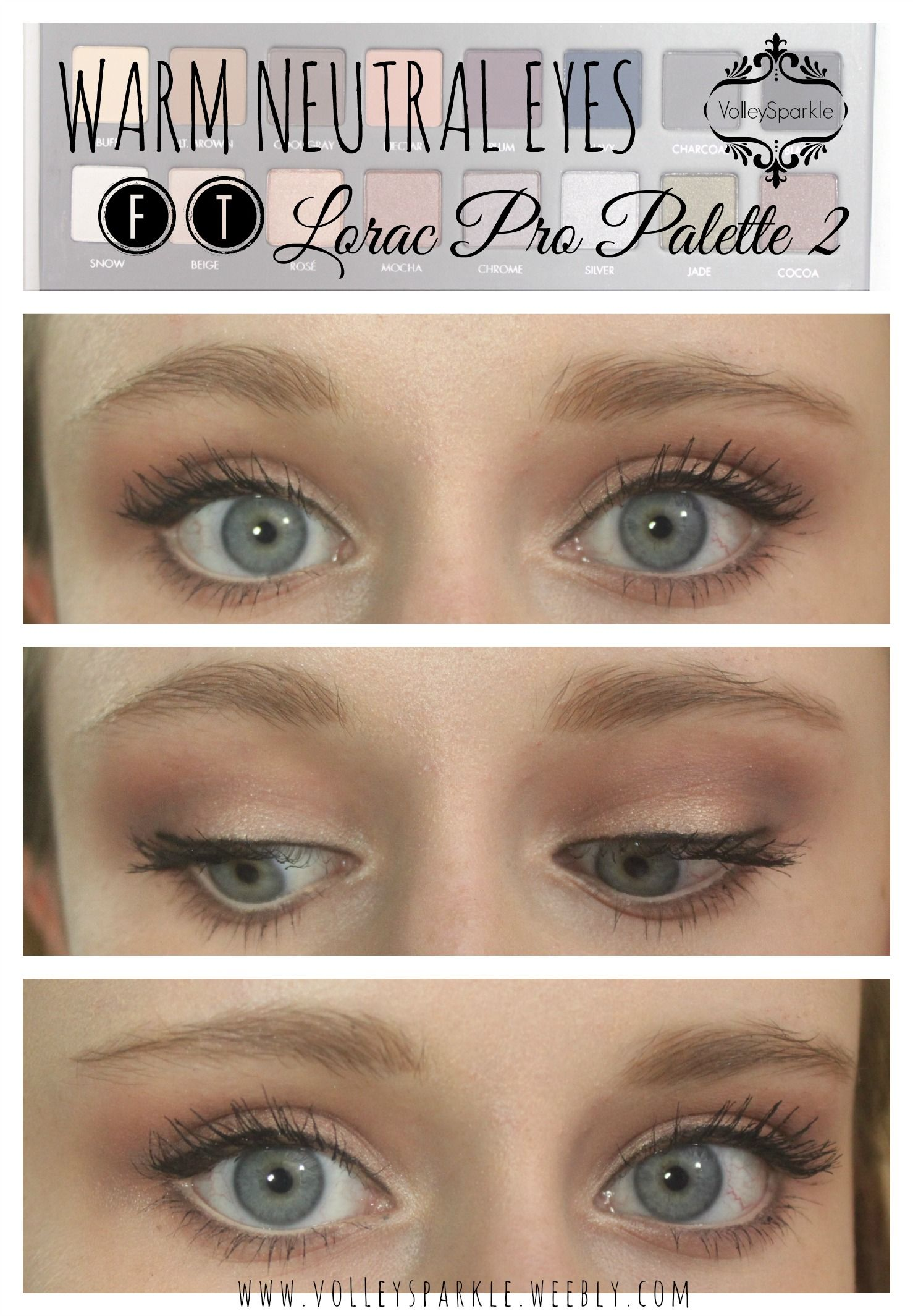 Warm Neutral Eye Look Ft Lorac Pro Palette 2 How To Makeup