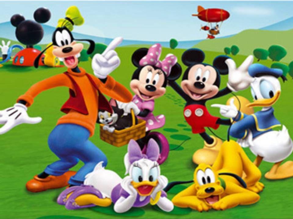 Dibujos Walt Disney Bebes: Imagen De Mickey Y Sus Amigos Bebés