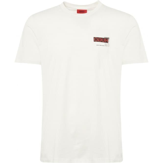 1edb2aff HUGO Natural Durned-U1 T-Shirt | HUGO | Shirts, T shirt, Hugo boss