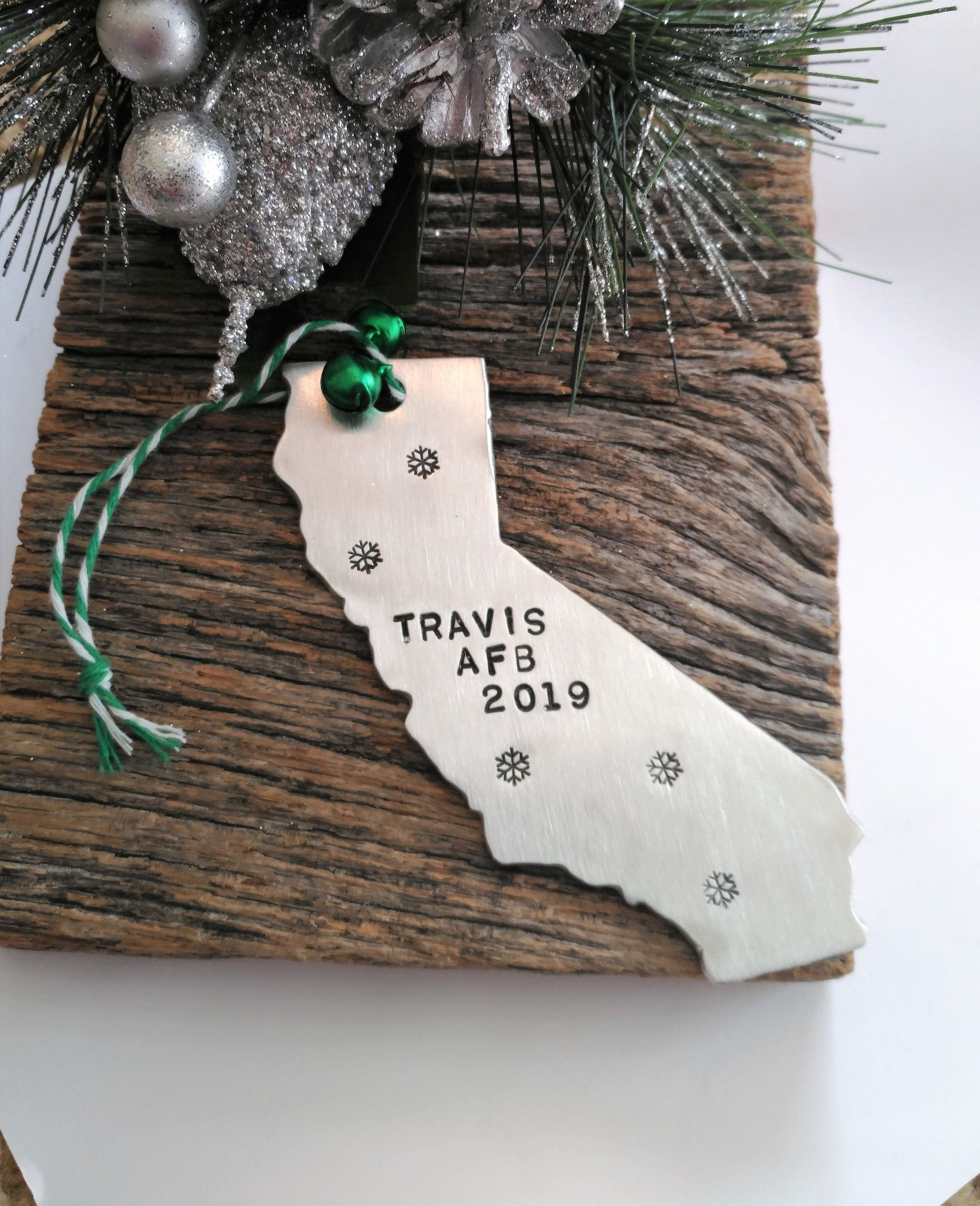 US Marines Personalized Christmas Ornament Handmade Customized Holiday Gift With Custom Handwritten Name