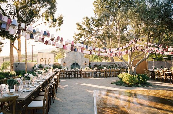 French Garden Inspired Wedding