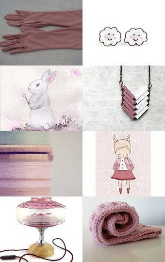 Blushing Fluffy Cloud Days by Mary Richardson on Etsy--Pinned with TreasuryPin.com