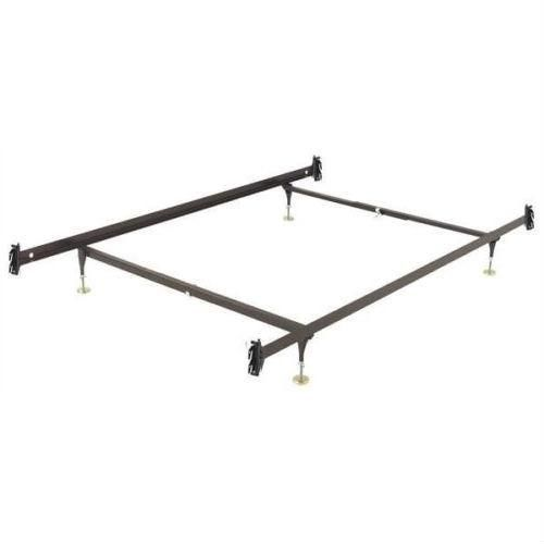 Twin Size Sy Metal Bed Frame With Hook On Headboard Footboard Brackets