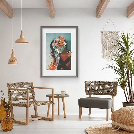 Salon painting: discover the trends of summer 2019  #discover #painting #salon #summer #trends #décorationmaisoncocooning