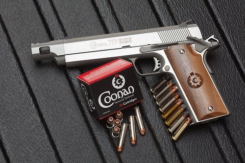Coonan  357 Magnum Automatic with Compensated Barrel