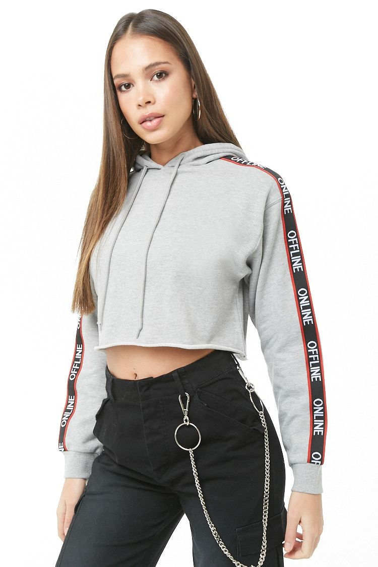 ba801f5426912 Forever 21 Offline Graphic Hoodie USD  22.90