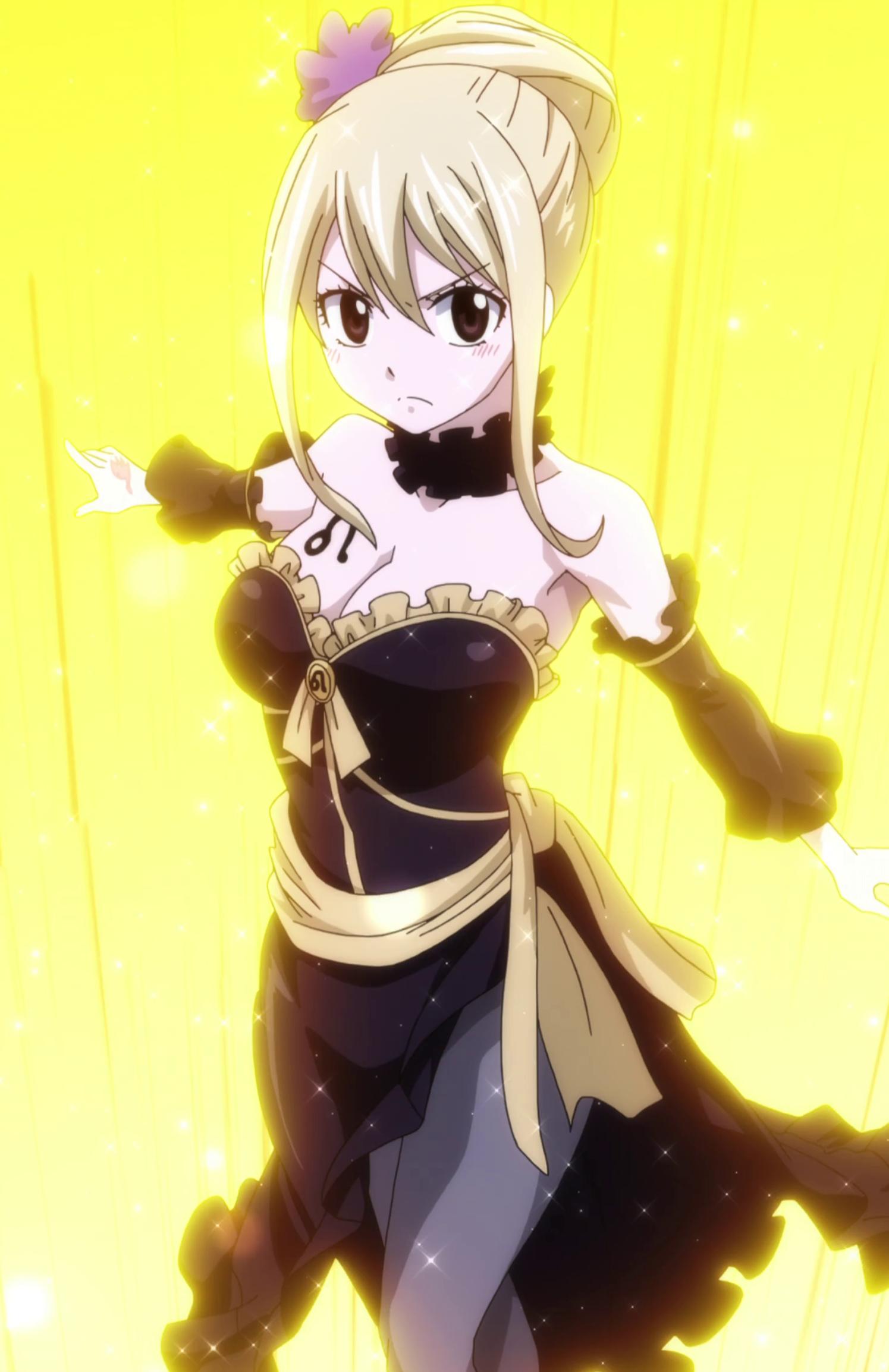 Star Dress Fairy Tail Anime Lucy Fairy Tail Anime Fairy Tail Girls