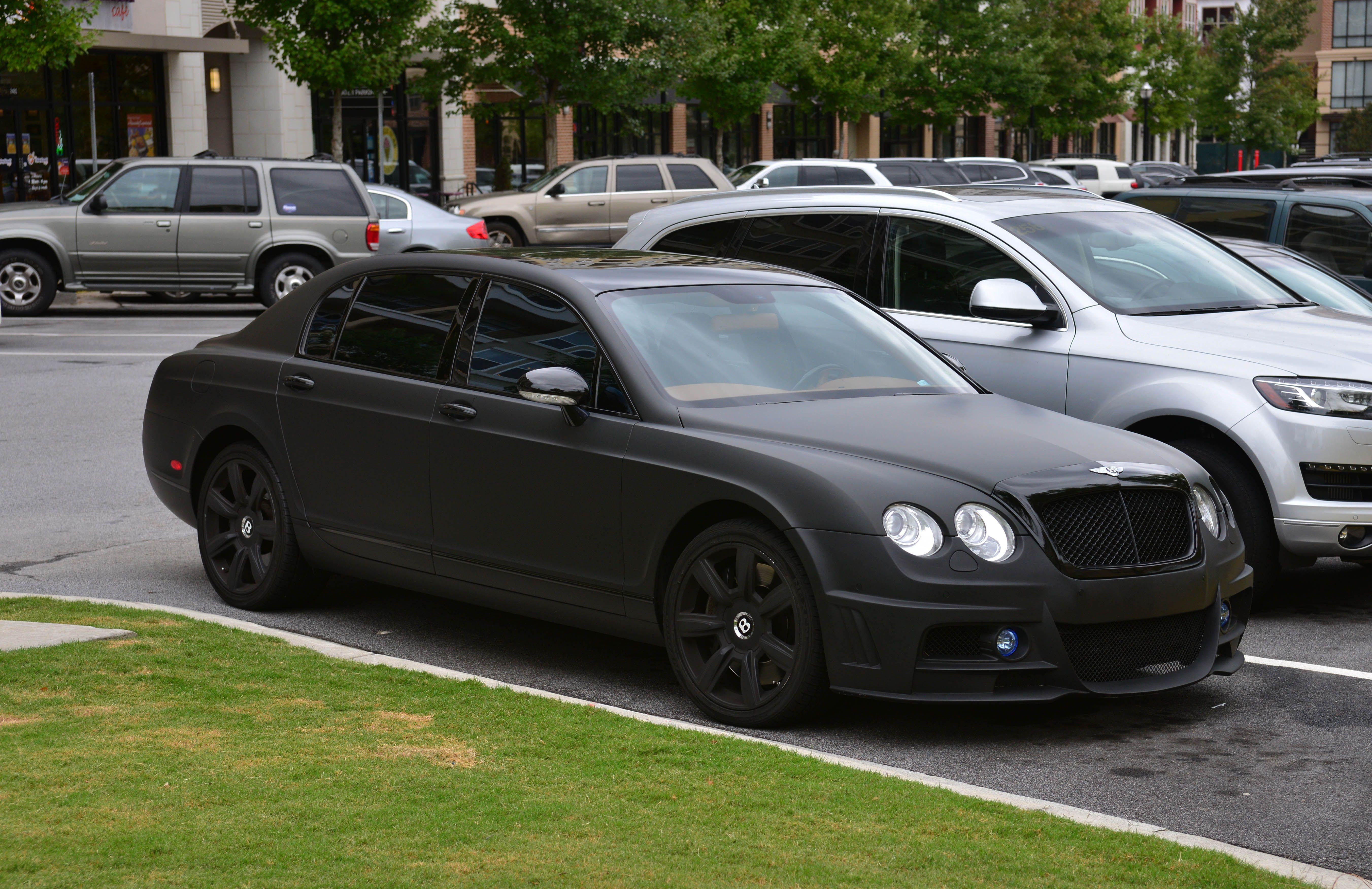 Black Bentley Bentley Flying Spur Bentley
