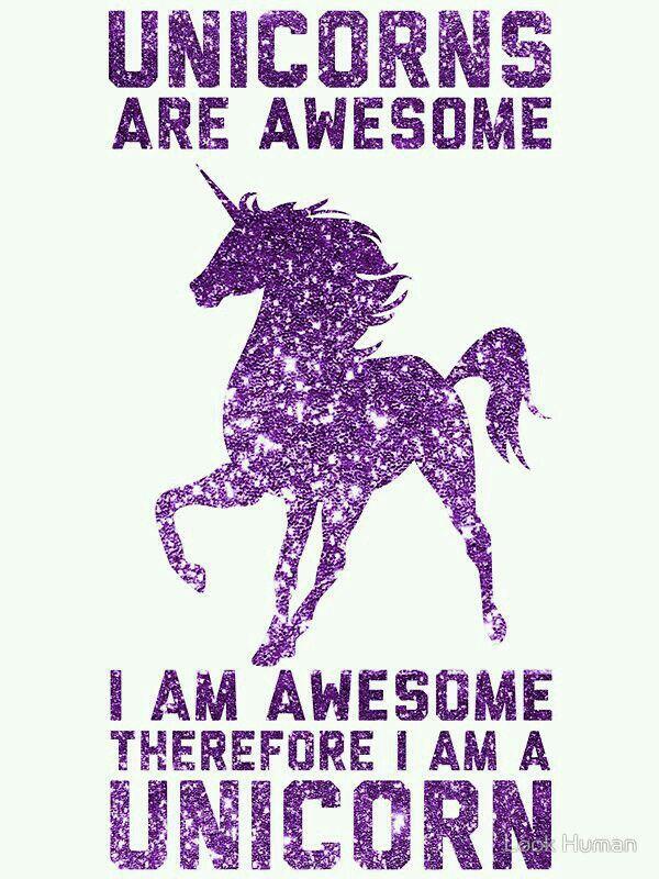 Awesome Quotes Unicorn Unicorn Background Unicorn