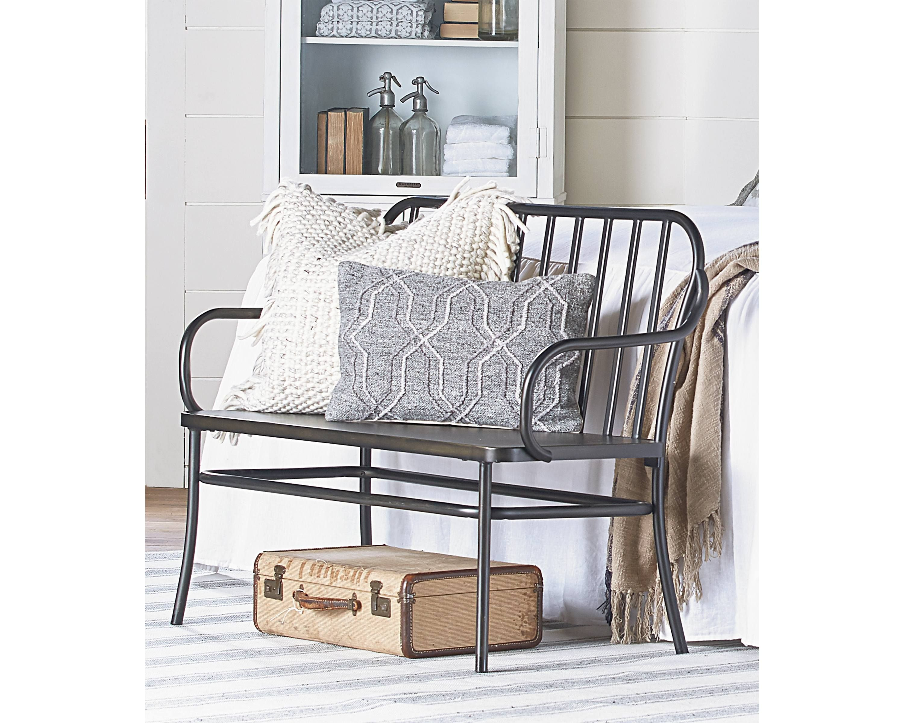 Park Bench Magnolia Home (With images) Industrial