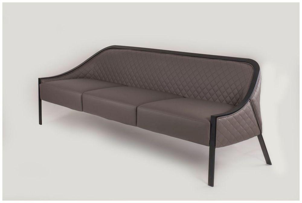 Custom Upholstered Restaurant Sofa With Metal Frame Custom Sofa
