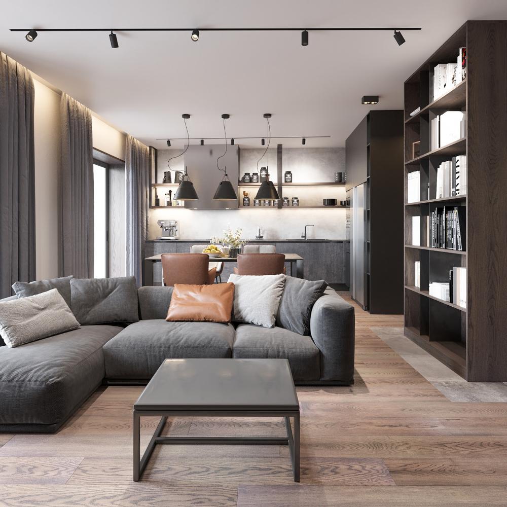 Cheap Loft Apartments: Loft Interior3 On Behance