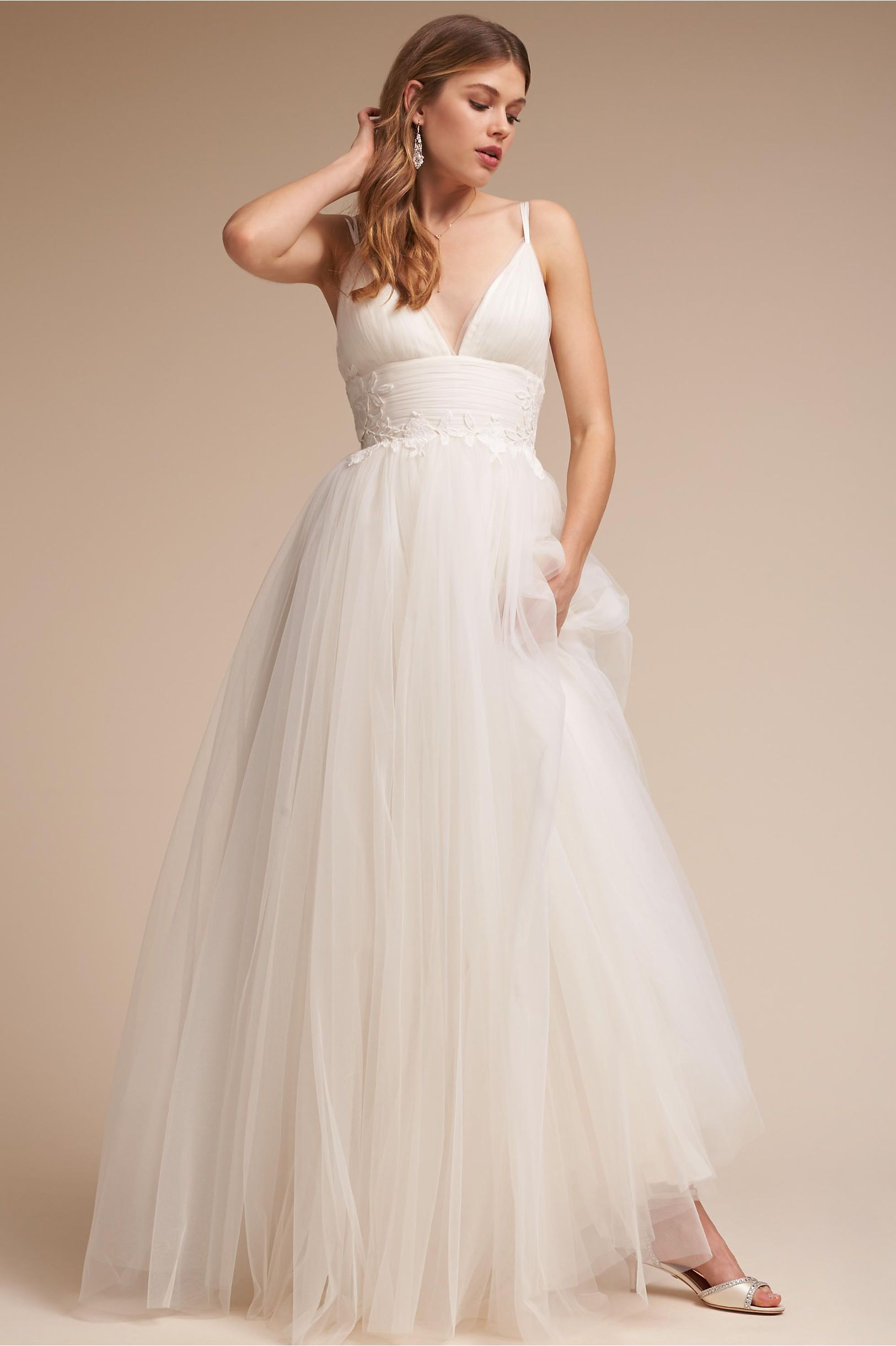3fb6dc77751 BHLDN s Catherine Deane Melrose Gown in Ivory