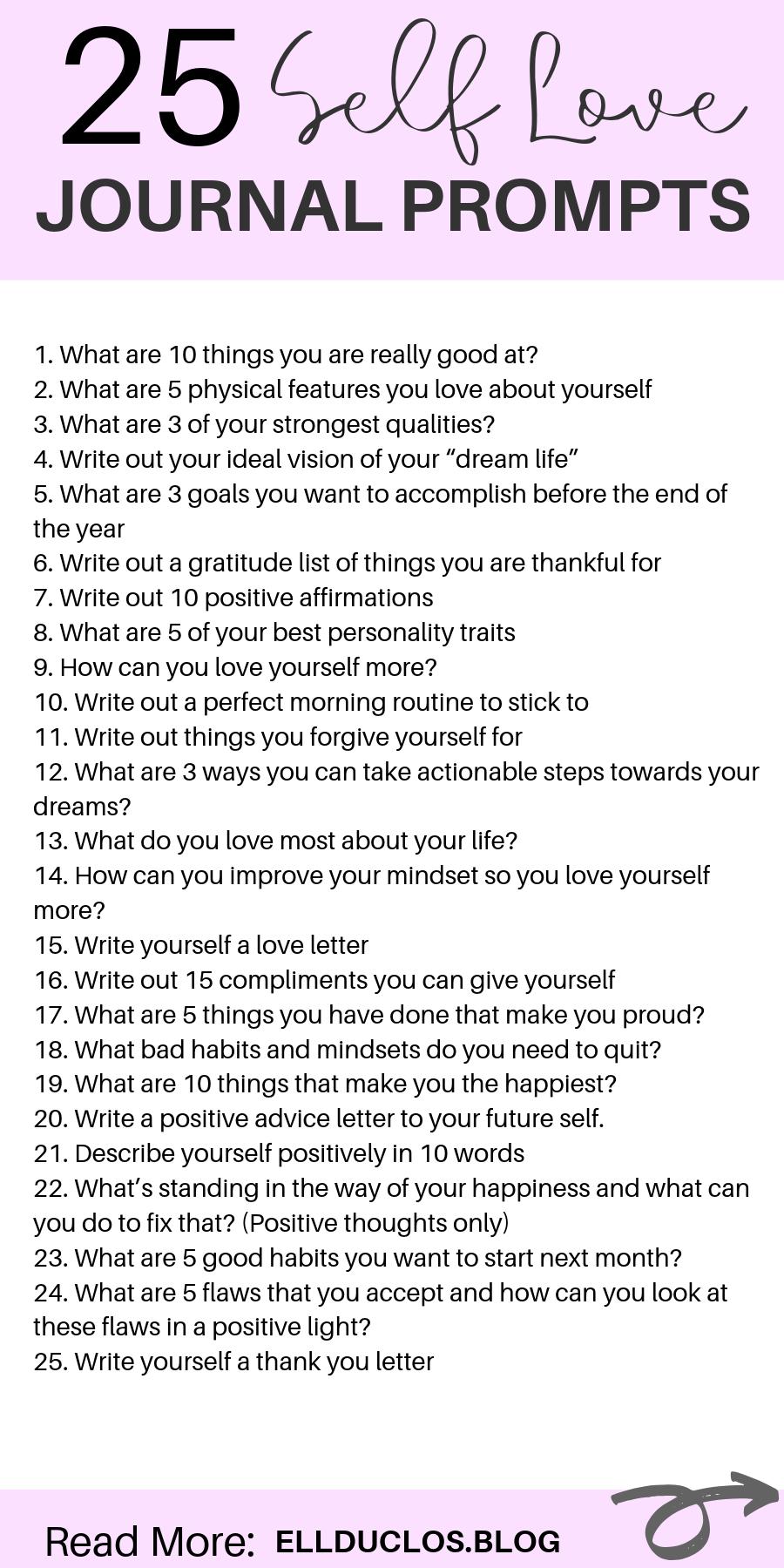 Photo of 25 Journal Prompts für Selbstliebe und Vertrauensbildung