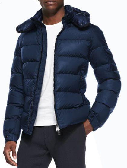 57a041cef5fd Himalaya Puffer Jacket with Hood-Moncler