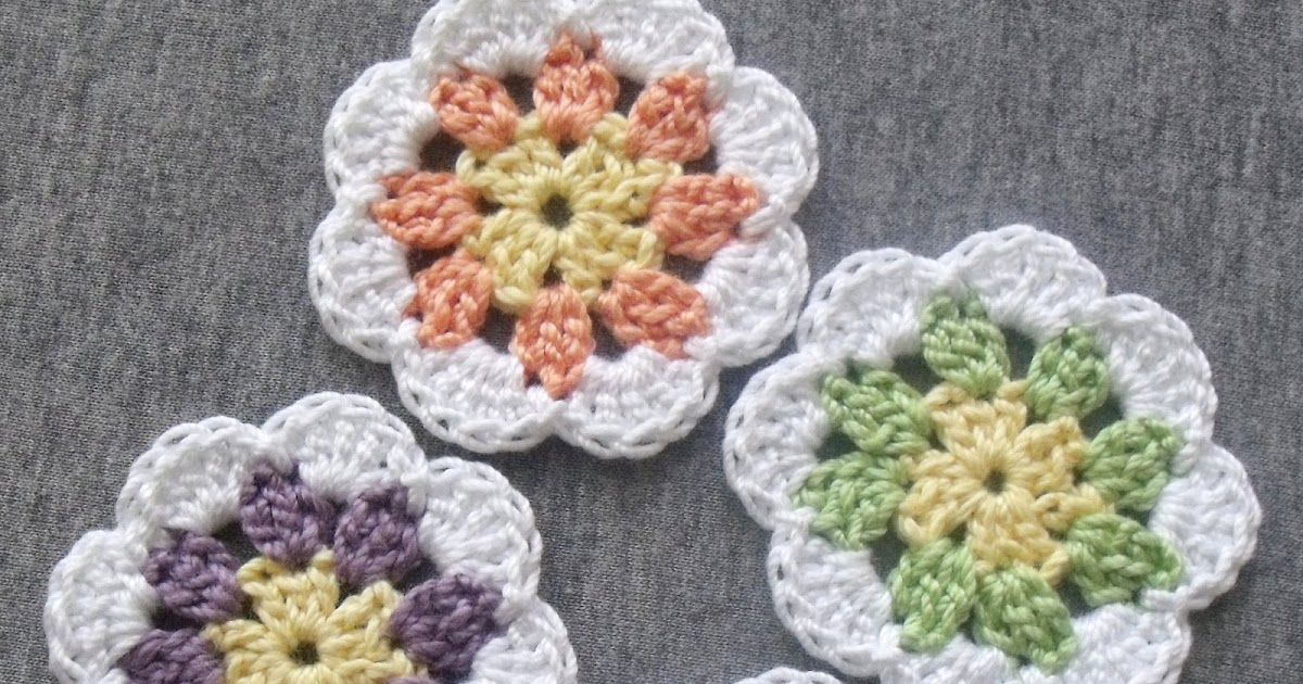 Materials: Aunt Lydia\'s Fashion Size 3 Crochet Thread (3 colors of ...